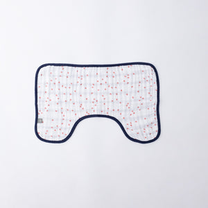 Baby Burp Cloth - Cherry Petals