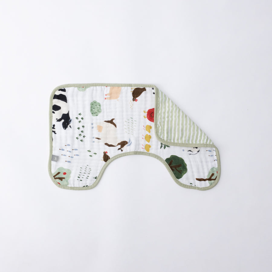 Burp Cloth - Family Farm