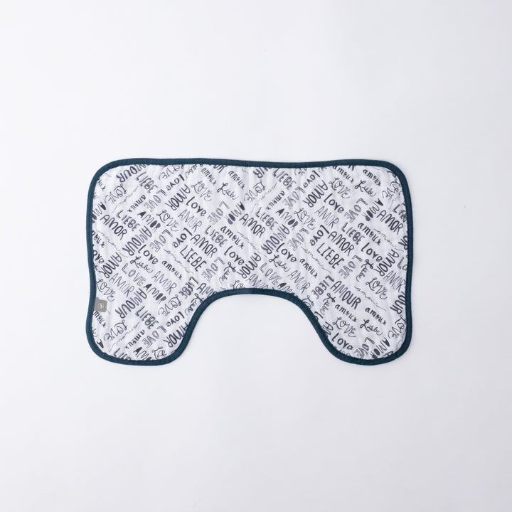 Baby Burp Cloth - Love Language
