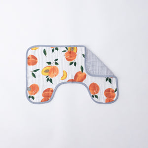Burp Cloth - Peachy