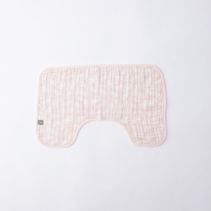 Burp Cloth - Pink Meadow