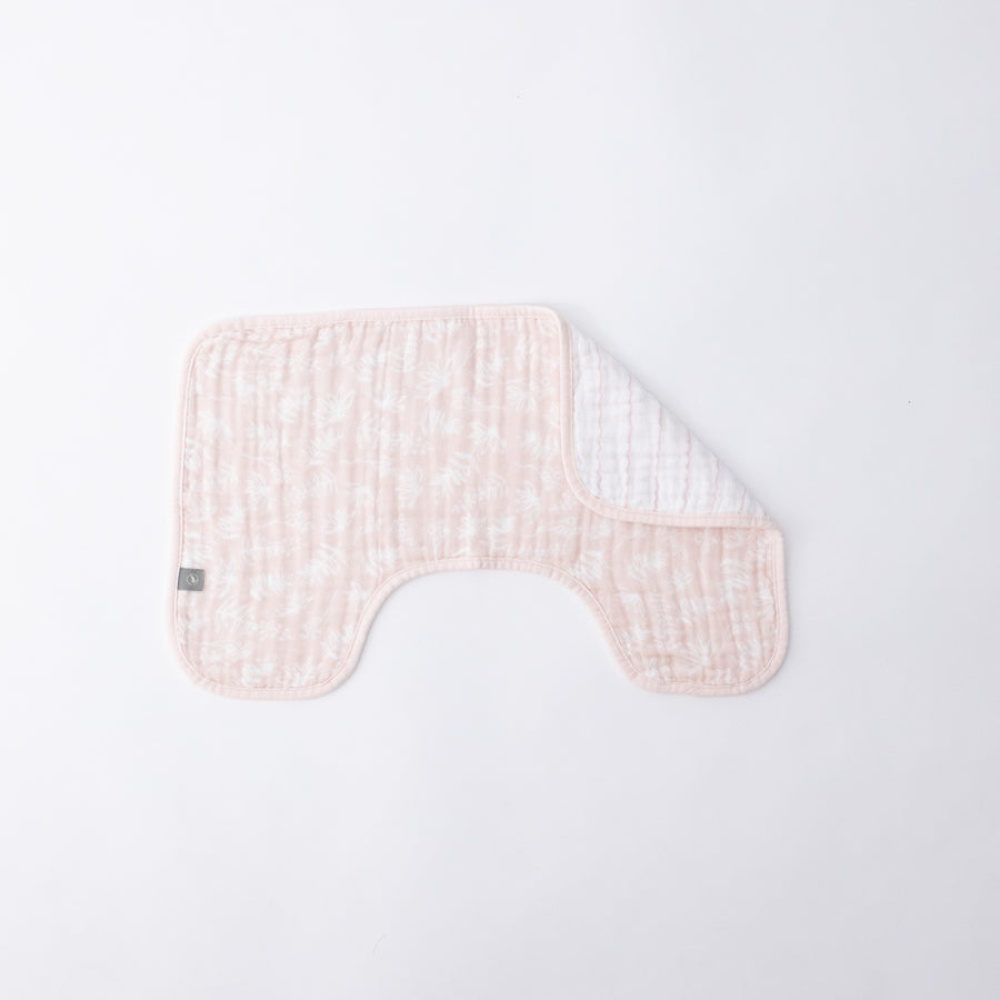 Baby Burp Cloth - Pink Meadow