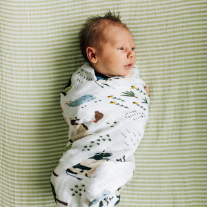 Baby Blanket - Family Farm
