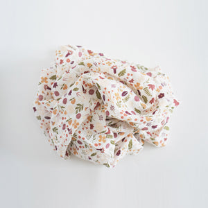 Swaddle Blanket - Mauve Meadow