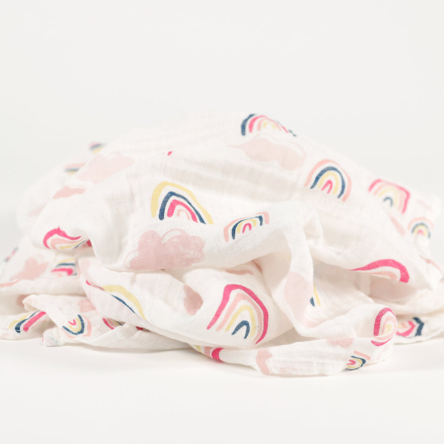 Baby Blanket - Rainbows