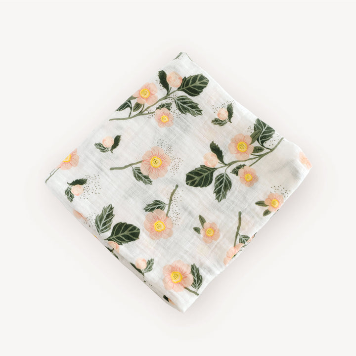 Swaddle Blanket - Blushing Bloom