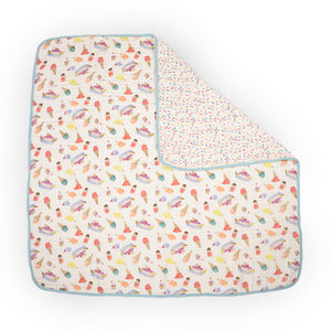 Baby Quilt - Ice Cream Parlor