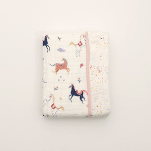 Baby Quilt - Little Unicorns