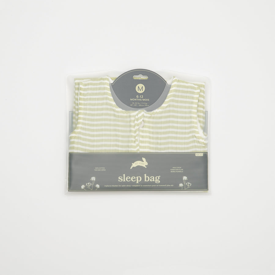 Sleep Bag - Green Stripe