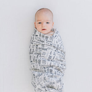 Swaddle Blanket - Love Language