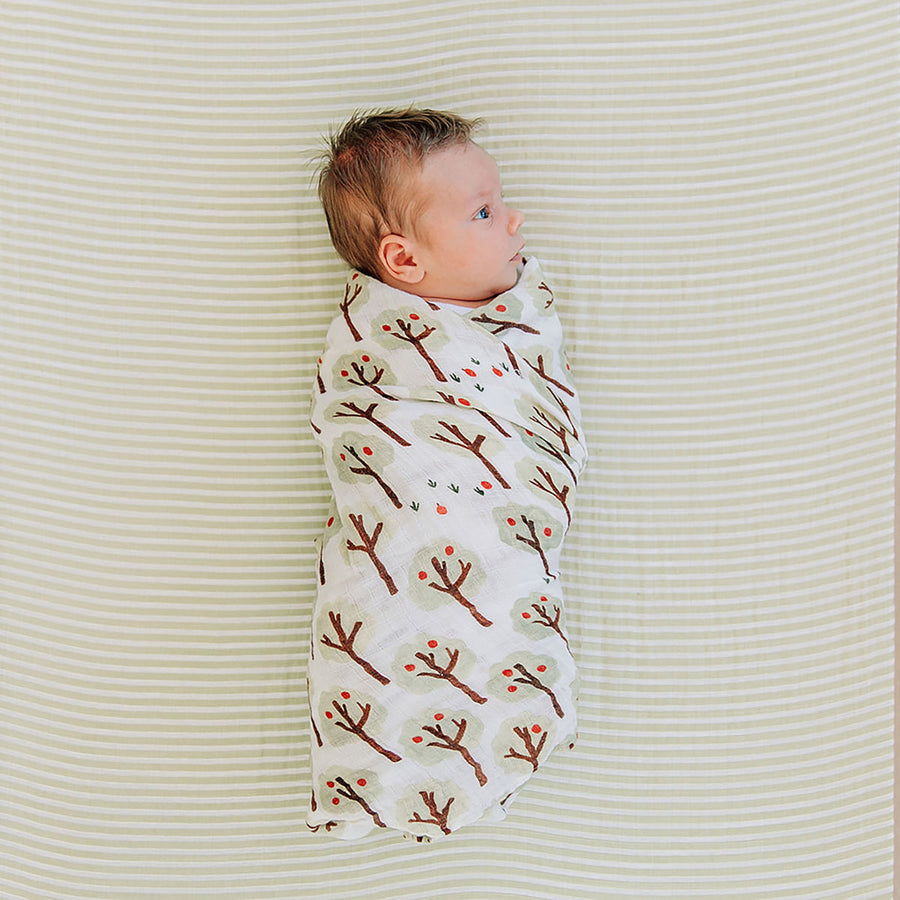 Swaddle Blanket - Orchard