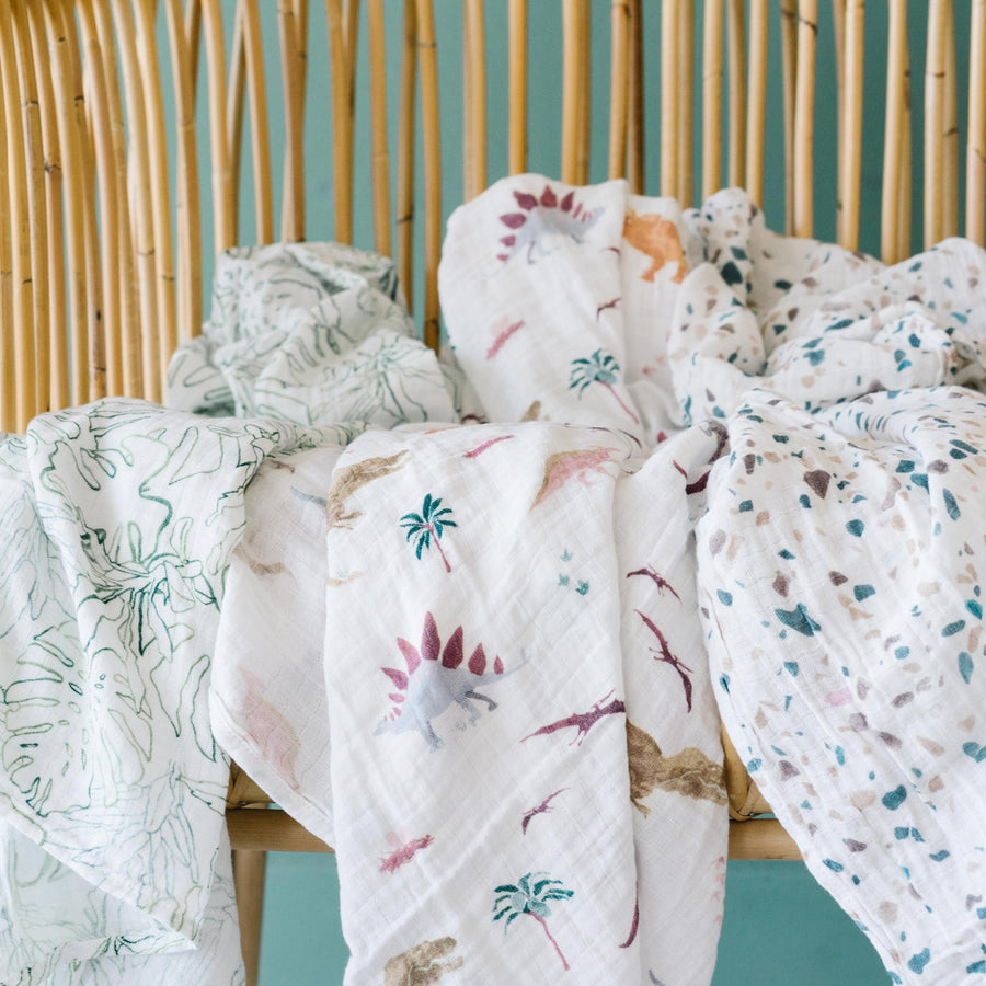 Swaddle Three Pack - Dino Days Set
