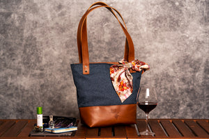 Geanta #Ema | duo x tote - ELAN Handcrafted Leather Goods