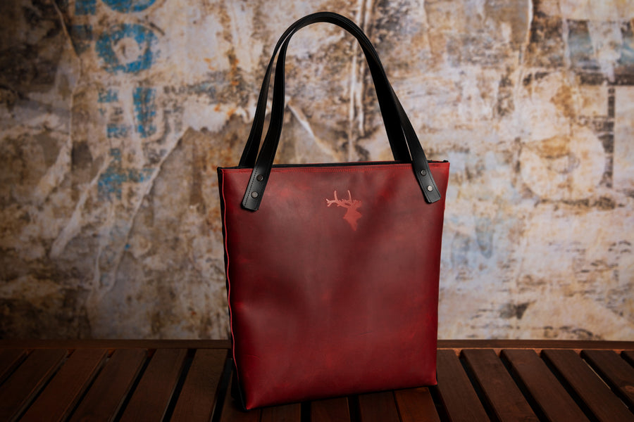 Geanta #Carla | casual x tote - ELAN Handcrafted Leather Goods