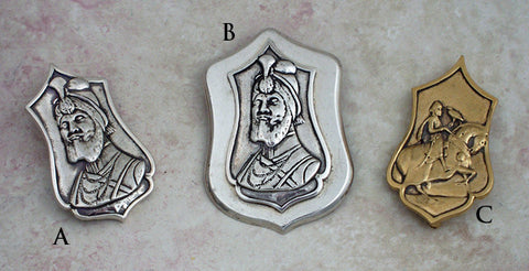 "sacred ""portrait"" pendants"