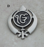 Adi shakti with Ekongkar pin pendants