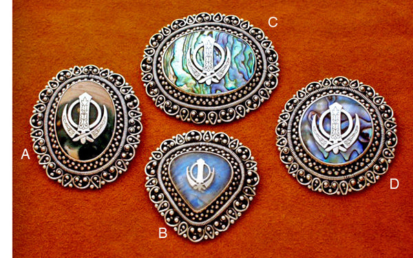 Large adi shakti brooches2