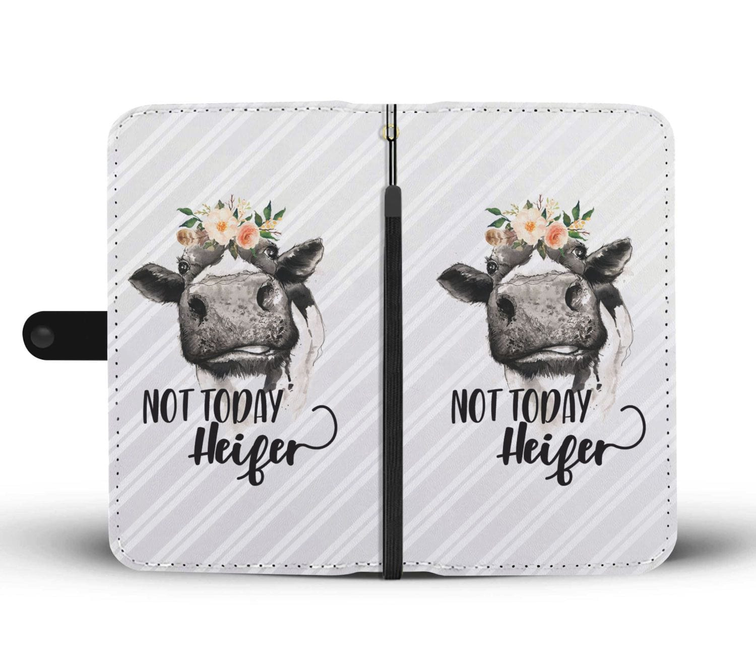 Not Today Heifer Wallet Case