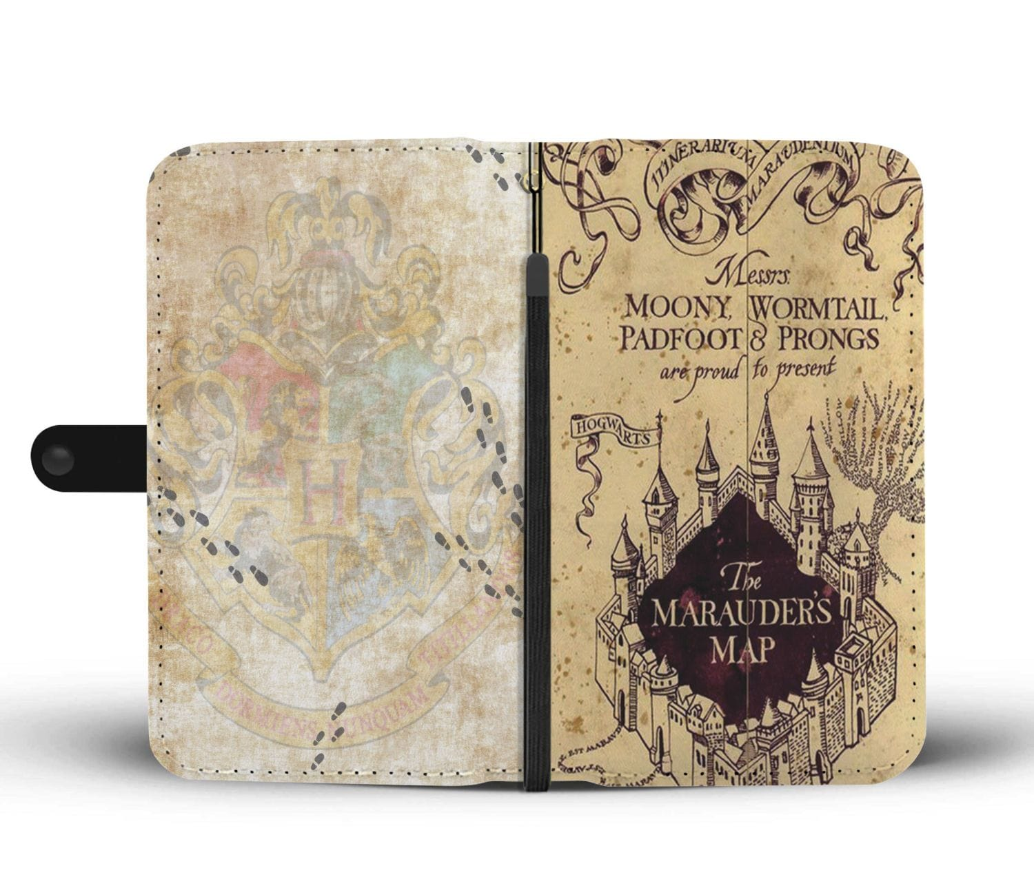 The Marauder's Map - Wallet Case