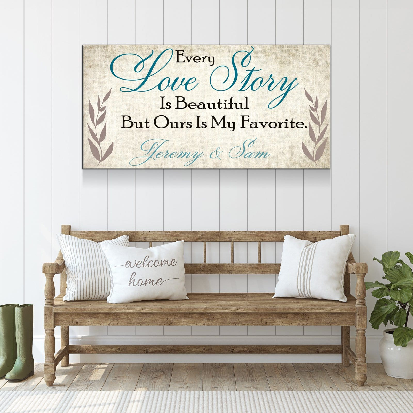 Every Love Story Is Beautiful - Personalized