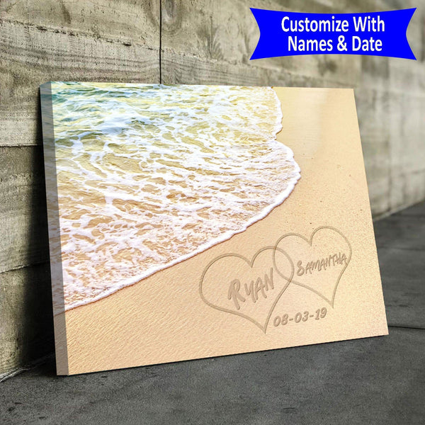 Names In The Sand - Personalized