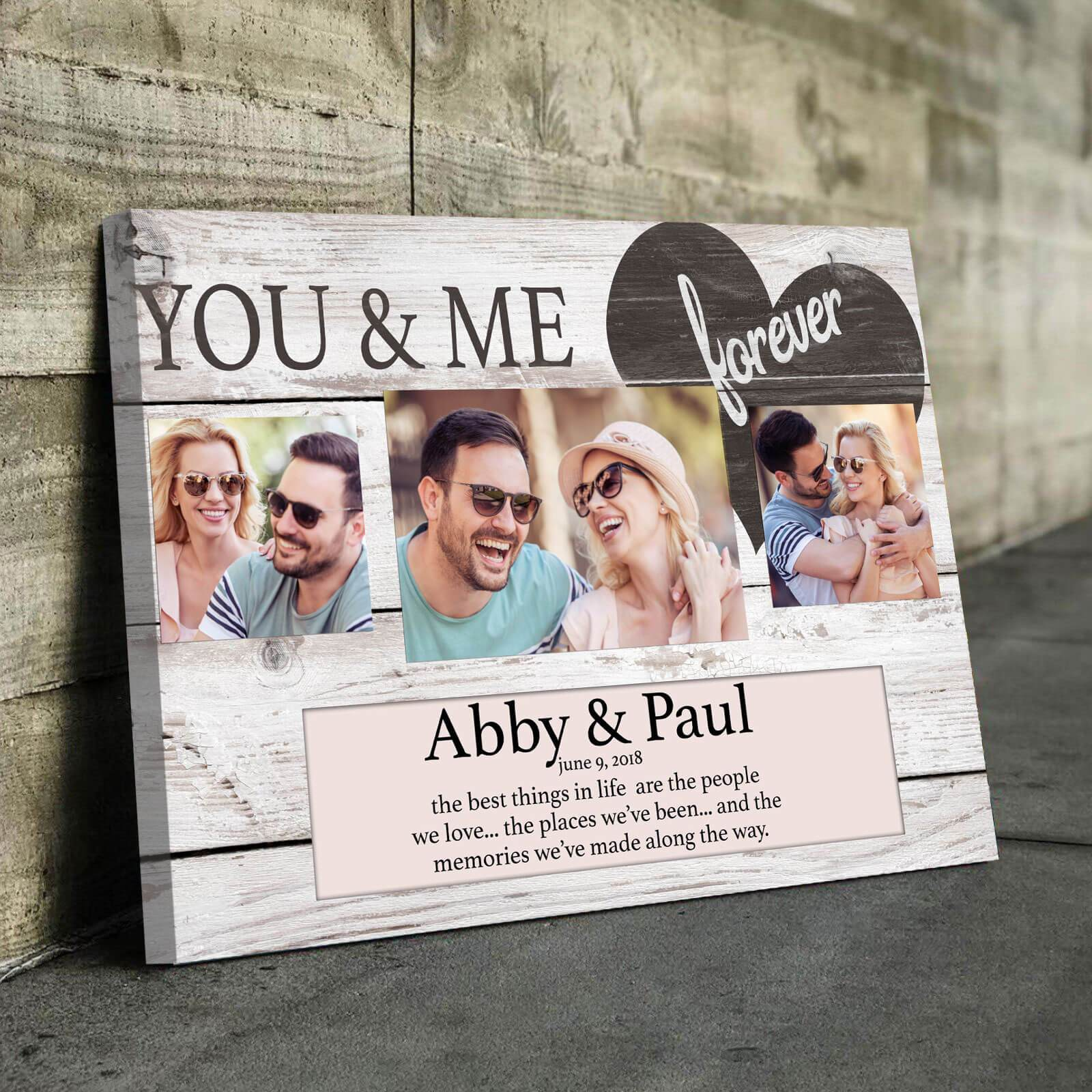 You & Me Forever - Personalized
