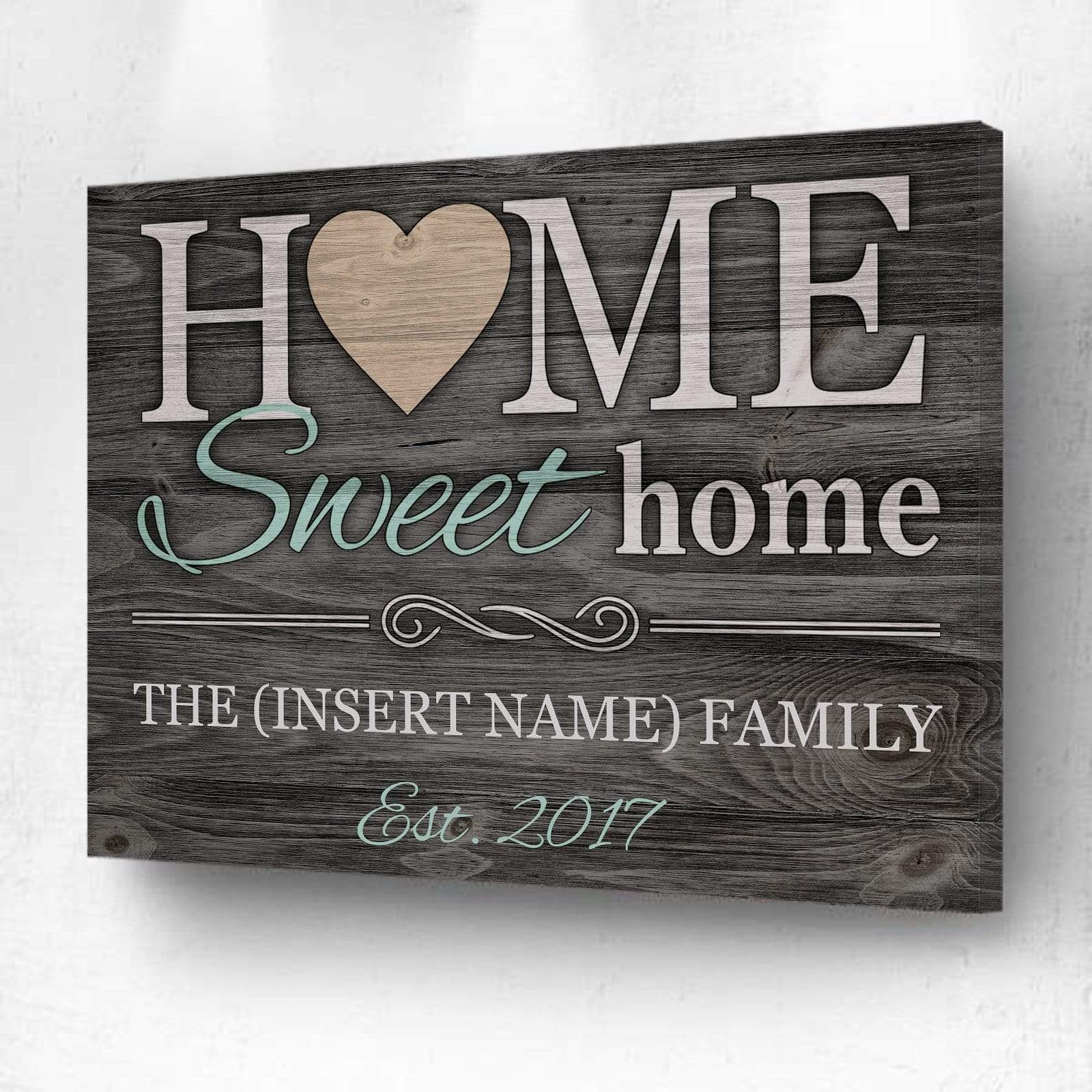 Home Sweet Home - Personalized