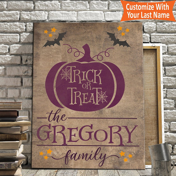 Trick Or Treat - Personalized