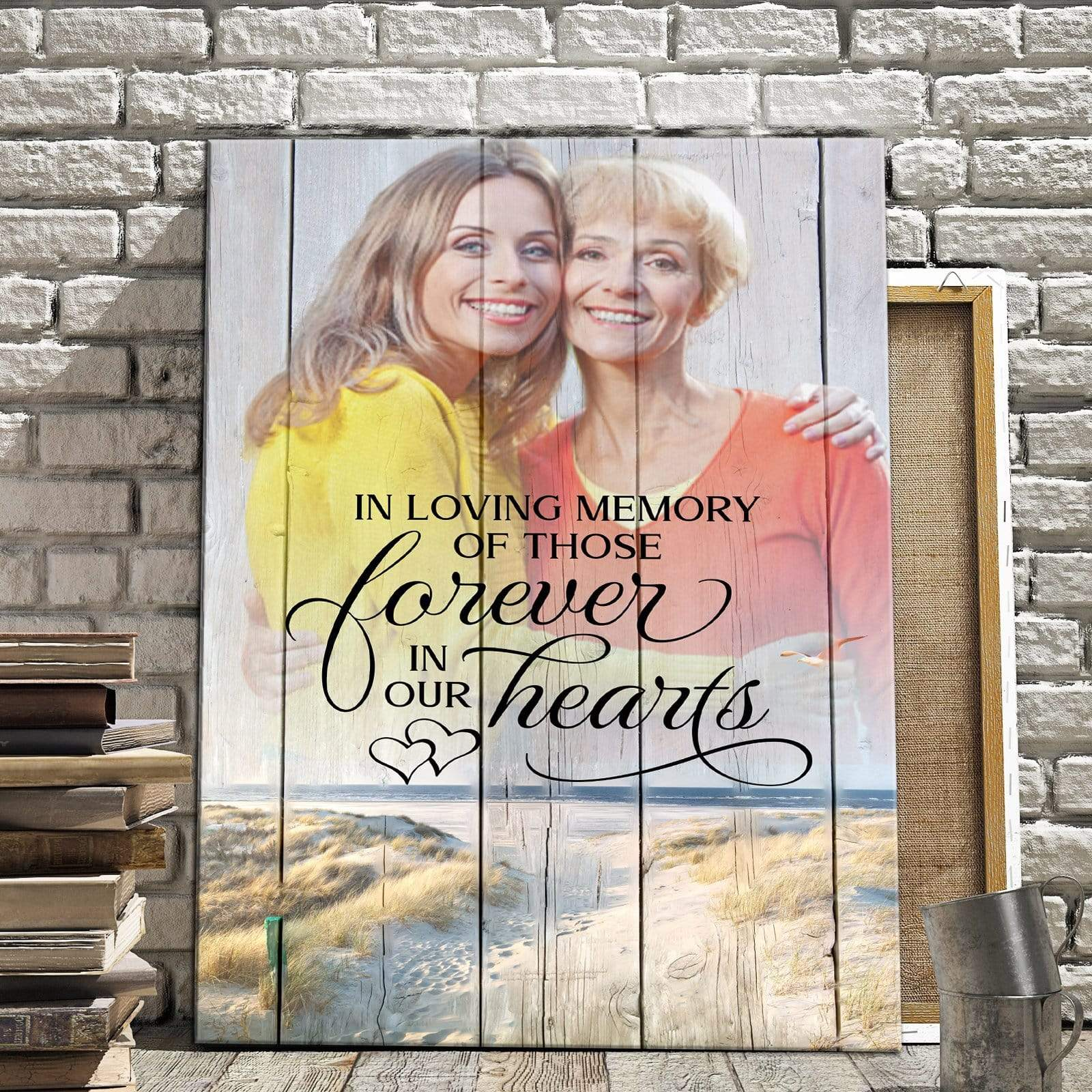 Preview Request In Loving Memory Of Those Forever - Personalized Canvas