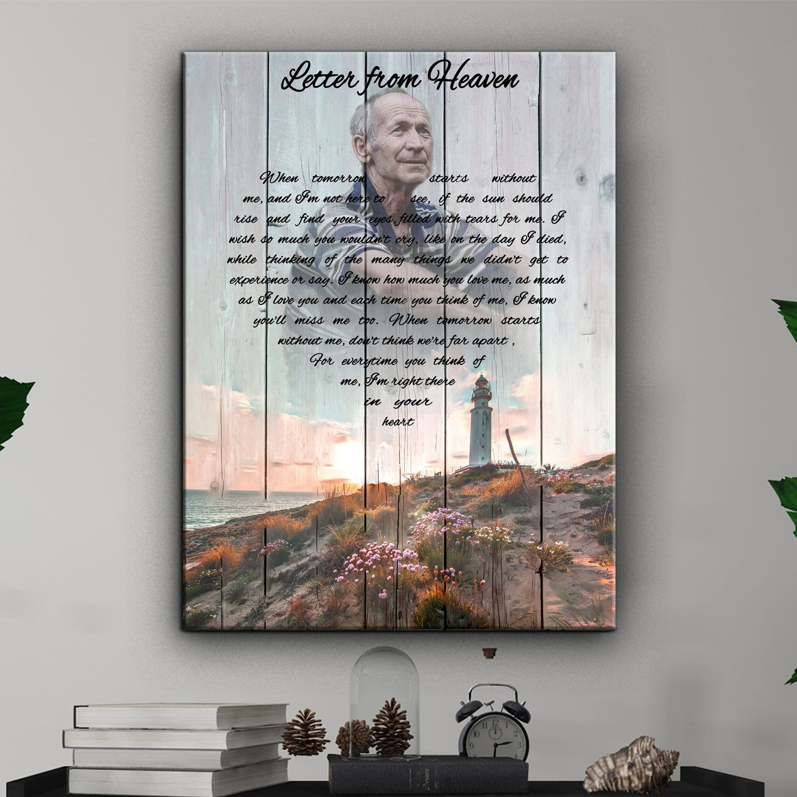 A Letter From Heaven - Lighthouse - Personalized