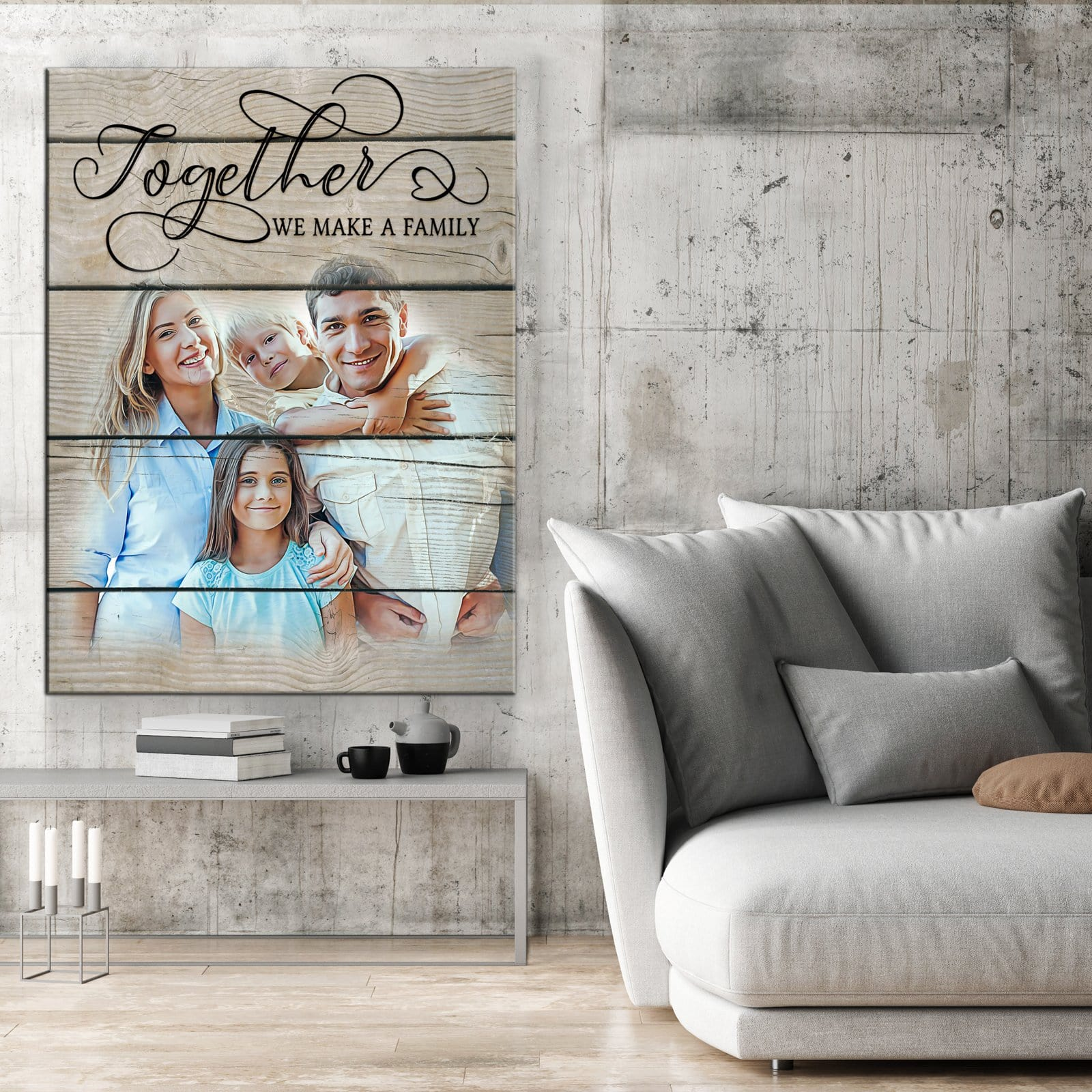 Together We Make A Family - Personalized