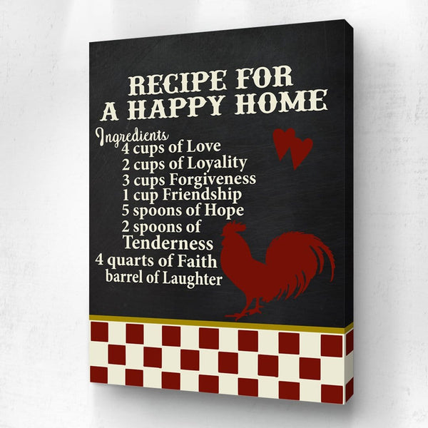 A Recipe For A Happy Home