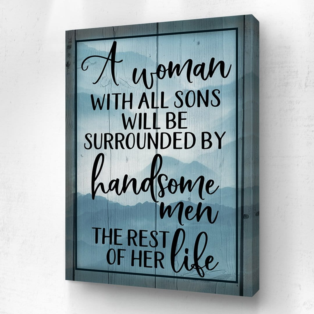 A Women With All Sons