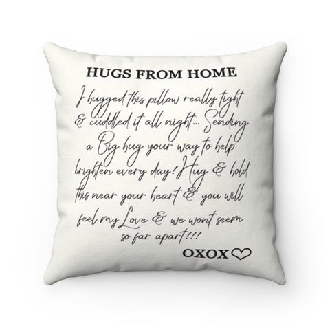 Hugs From Home - Pillow
