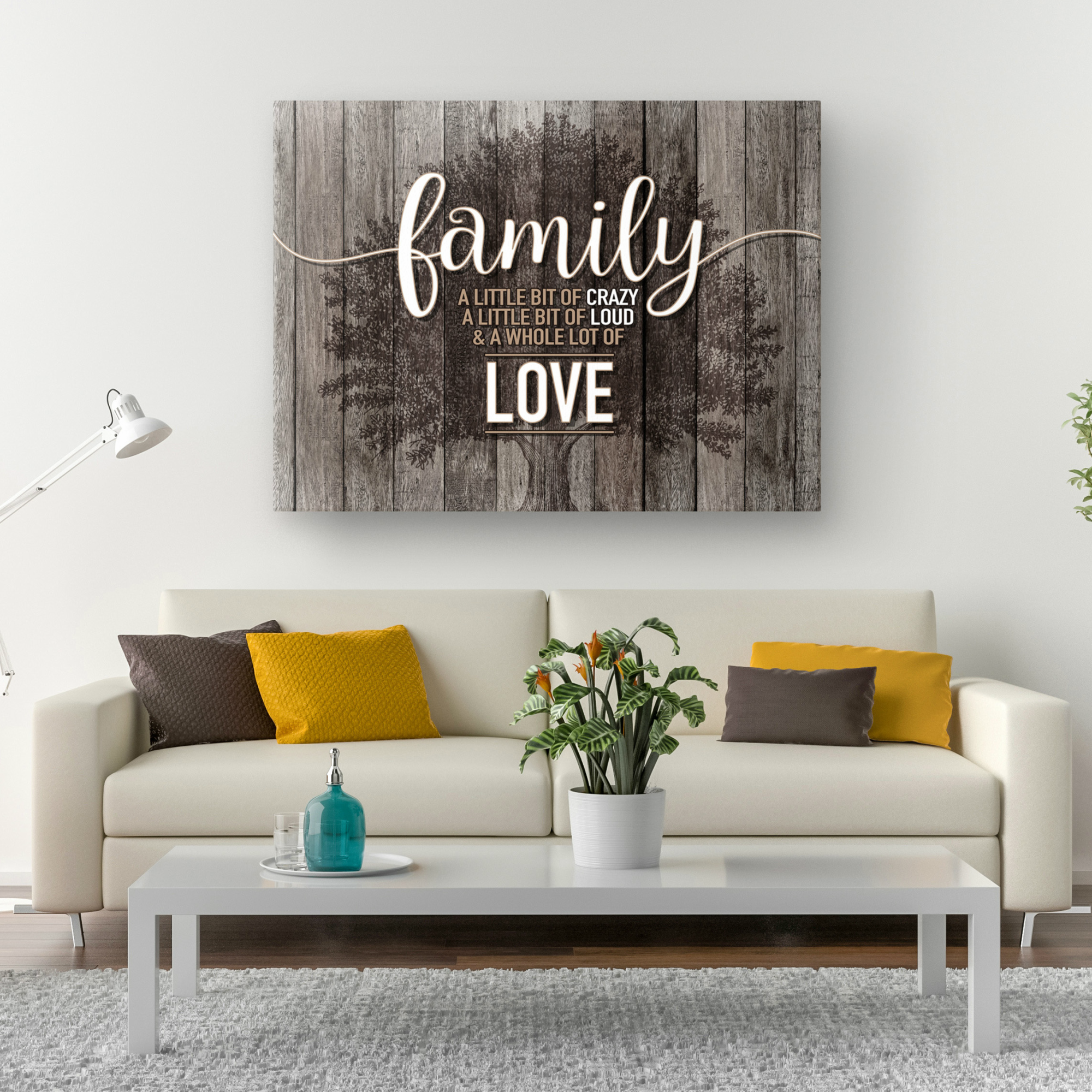 Family Love Canvas