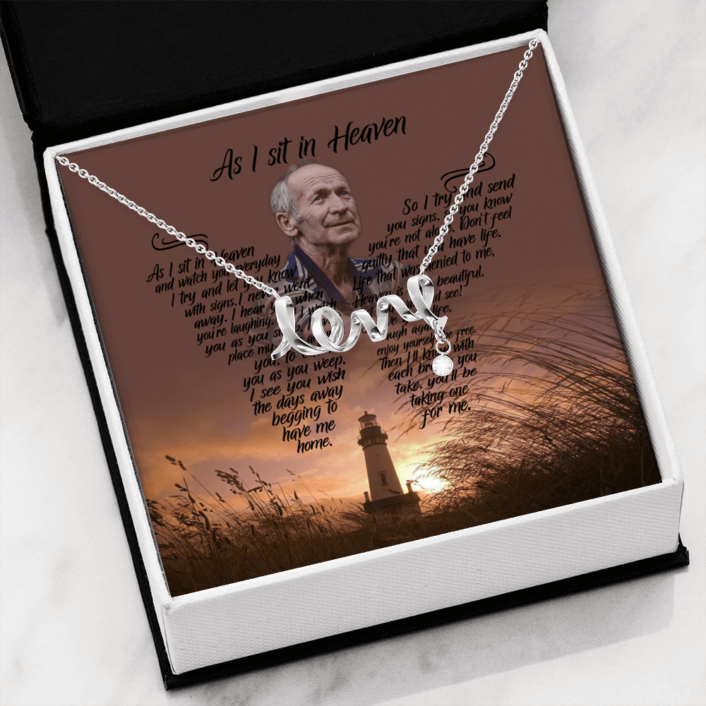 As I Sit In Heaven The Last Resort - Love Necklace