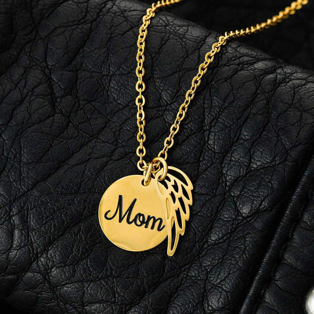 As I Sit In Heaven - 7th Heaven Customized Mom Necklace