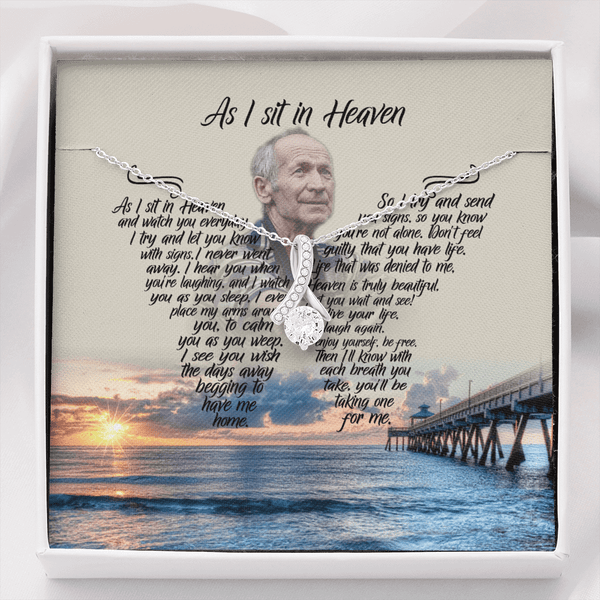 As I Sit In Heaven Beach Blessing - Alluring Beauty Necklace