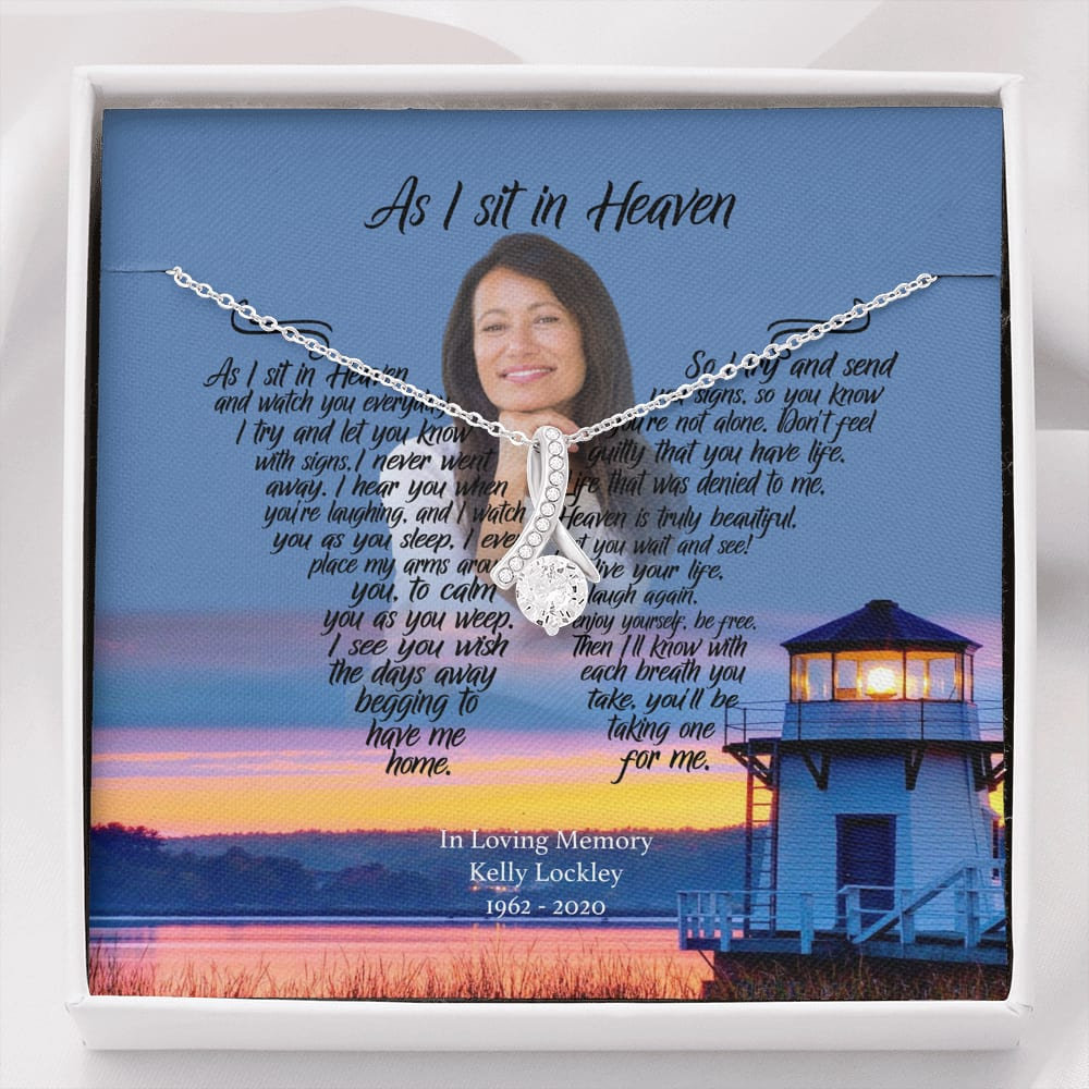 As I Sit In Heaven - Afternoon Delight Customized Alluring Beauty Necklace