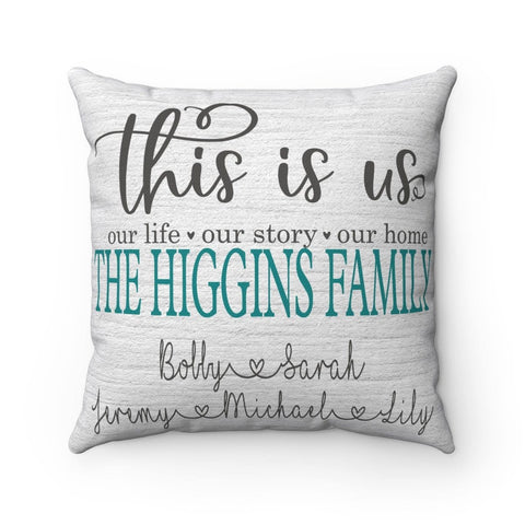This Is Us Pillow - Personalized