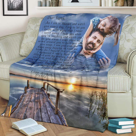 Hugs From Heaven - Second Wind Custom Blanket