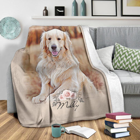 Custom Photo Upload Blanket