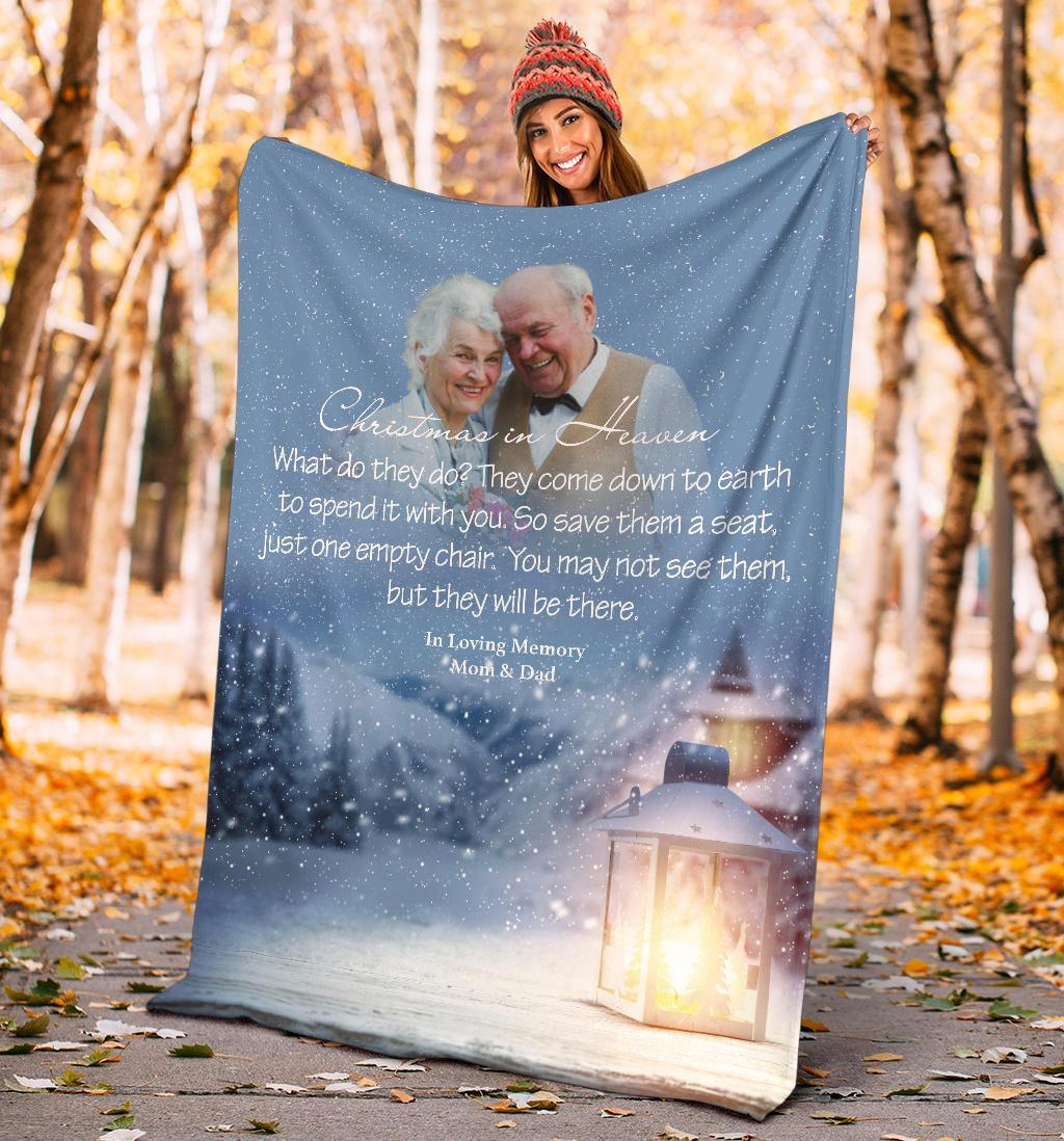 Christmas In Heaven - Love Is The Light Of Christmas Blanket