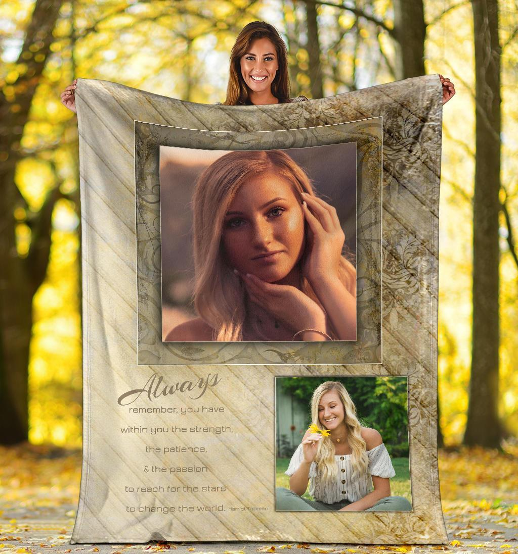 Always Remember Personalized Blanket