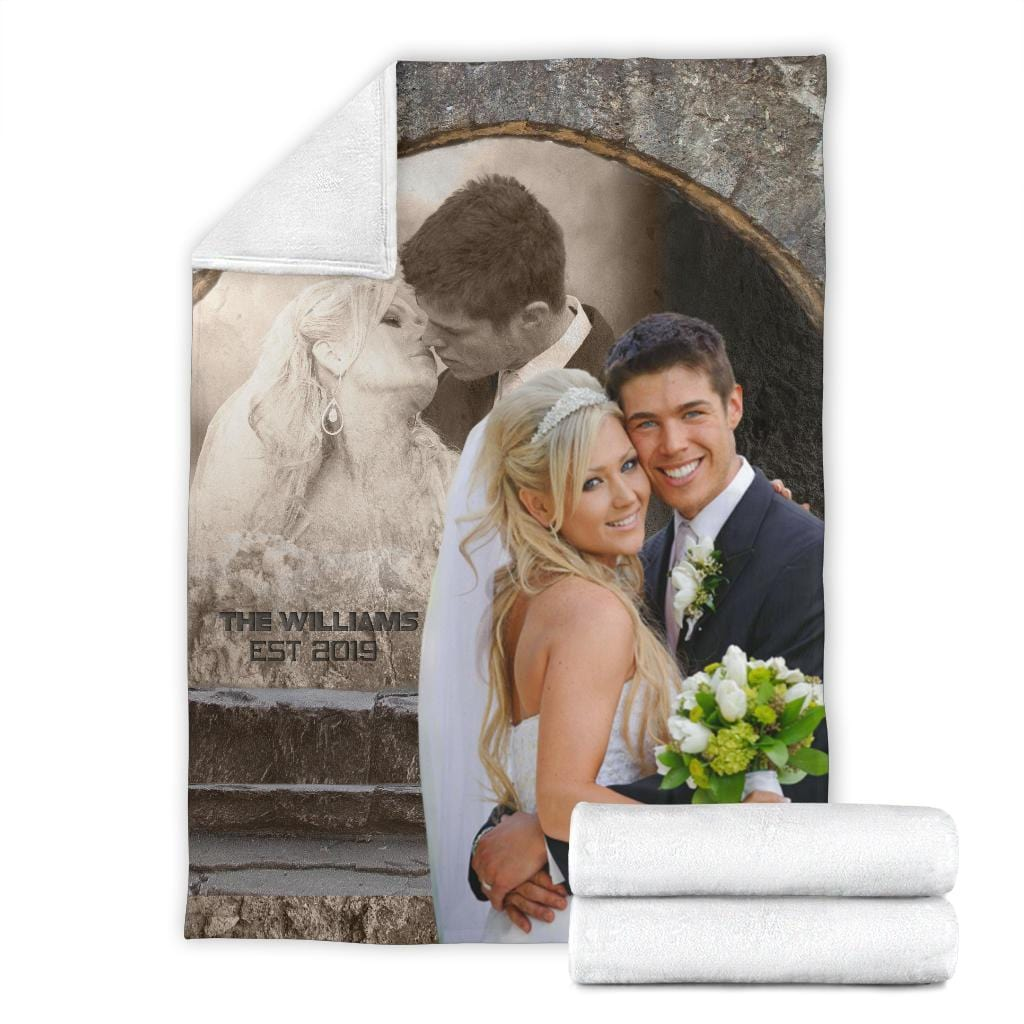Rock Wall Customized Photo Blanket