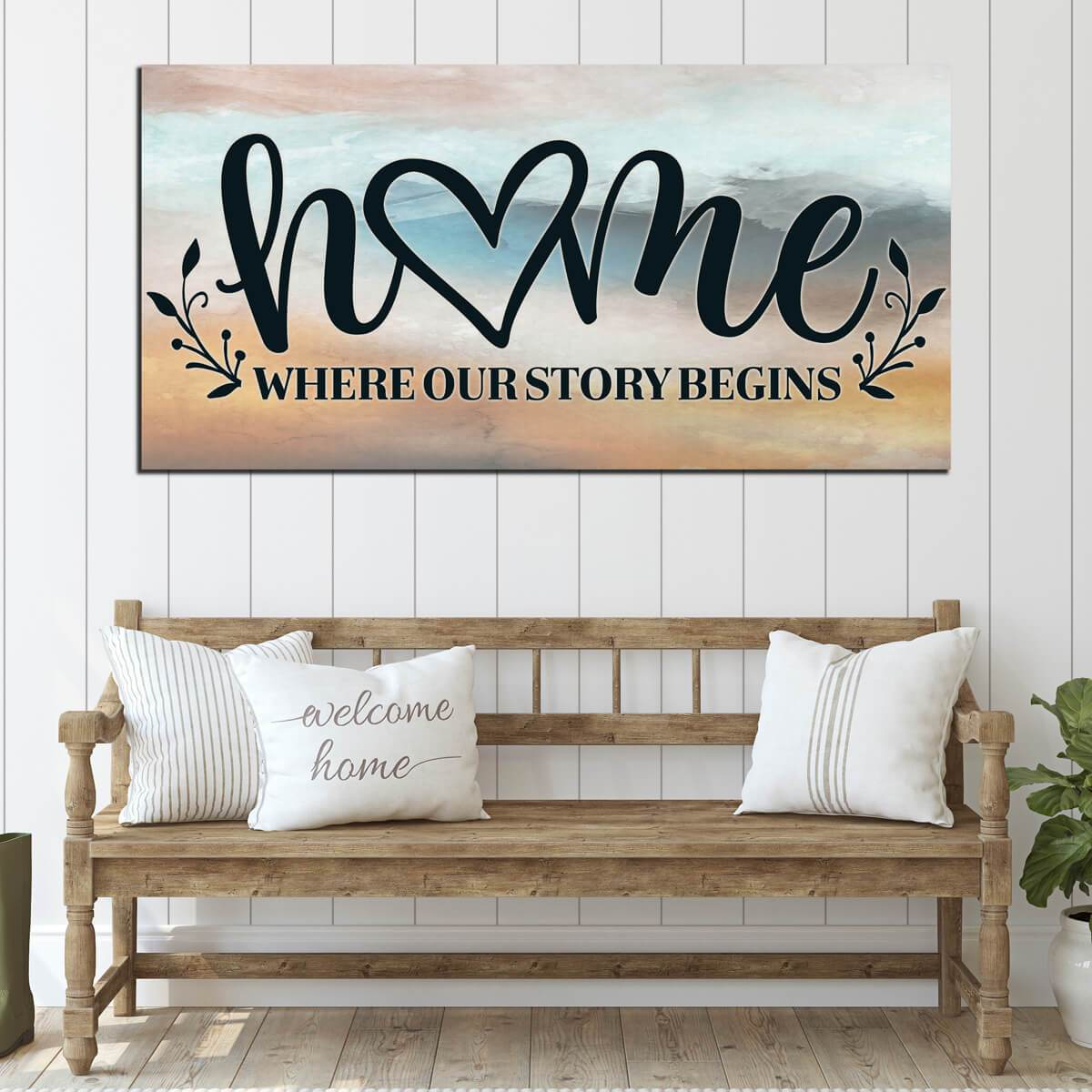 Home Where Our Story Begins Printable Digital Instant Download
