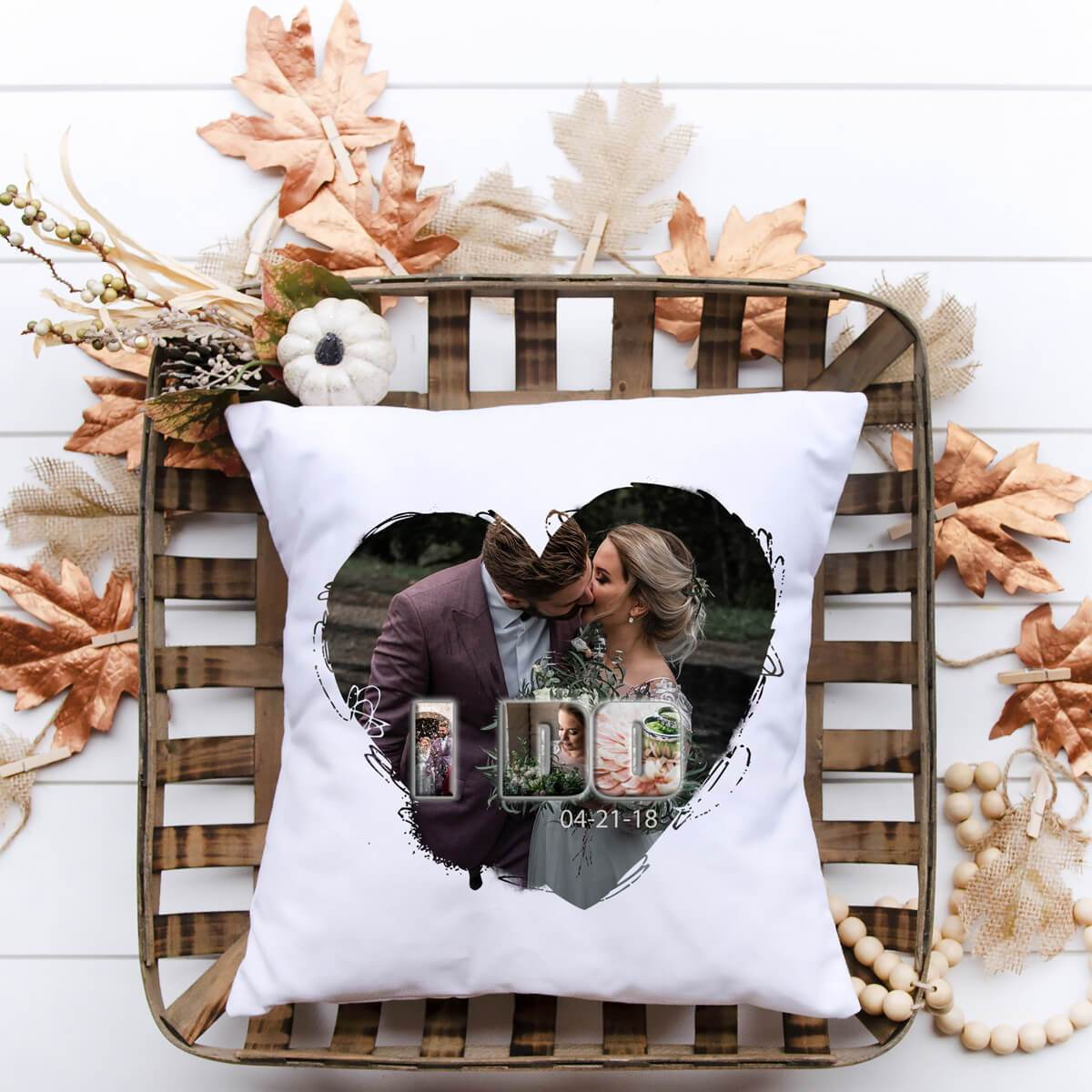 I Do Pillow - Personalized