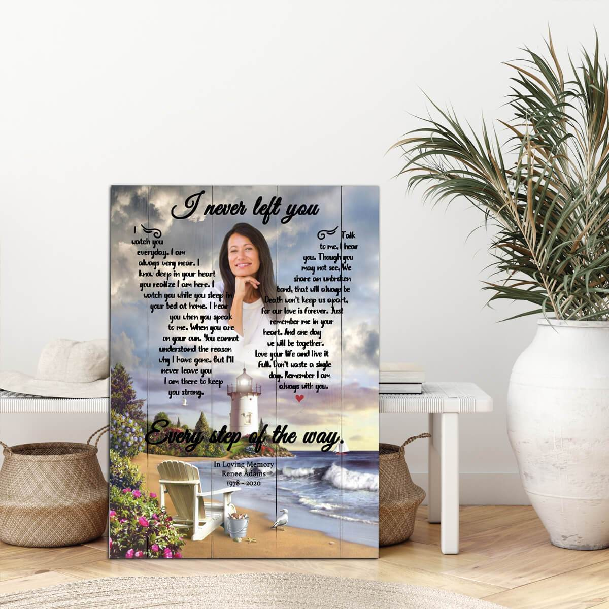 I Never Left You - Timeless Memories - Personalized Canvas