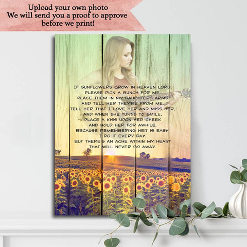 Preview Request - If Sunflowers Grow In Heaven Custom ...