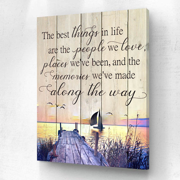 The Best Things In Life Sunset Sail